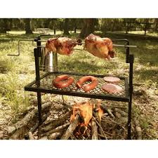 Firepit Grille by Texsport Stainless Steel Rotisserie Grill And Spit Www Kotulas