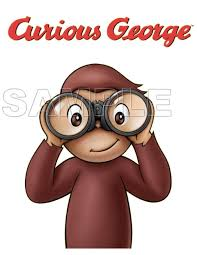 curious george iron ons