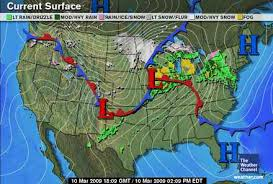 weather map ohio weather and songbird migration 2009