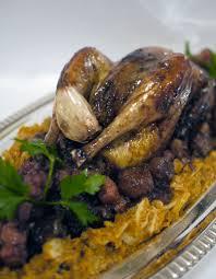 cuisiner une poule faisane poule faisane au chou et aux marrons en plat de fête de la chef