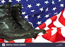 American Flag On Ground Soldiers Boots On Parade Ground Stock Photos U0026 Soldiers Boots On