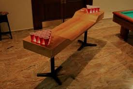 custom beer pong tables drinking game countertops custom beer pong table