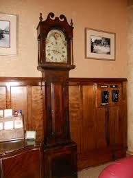 grandfather clock wood contemporary grandfather clock modern contemporary