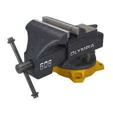 6 Inch Bench Vise Olympia 6 In Bench Vise 38 606 The Home Depot