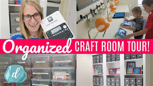 Craft Room Ideas On A Budget - budget craft room organization ideas back to room tour
