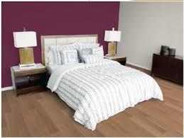 chambre couleur prune et gris décoration chambre adulte prune