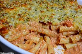 homemade baked 5 cheese ziti the blonde blog