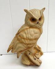 owl wood carving carved owl ebay