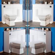 Combination Vanity Units For Bathrooms by Gloss White Combined Vanity Unit Toilet And Basin 906x880mm