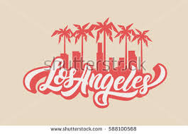 royalty free stock photos and images los angeles lettering t