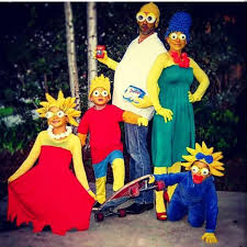 Marge Halloween Costume Setcrochet 5 Hatsmaggielisamargehomerbart Simpson
