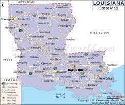louisiana highway map best 25 louisiana state map ideas on