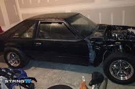 Black Fox Body Mustang Project Rehab Fox Body Mustang Build Updates Fordmuscle