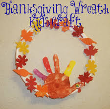 thanksgiving thankful crafts thanksgiving wreath kids craft