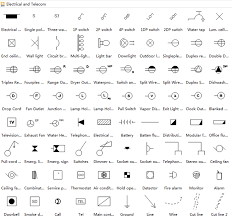 home electrical wiring diagram symbols