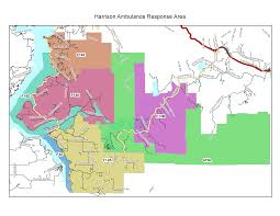 Sunrise Sunset Map Coverage Map U2013 Harrison Community Ambulance Association