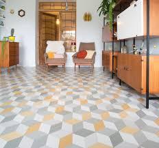 cubes yellow sheet vinyl flooring pcm flooring ideas pinterest