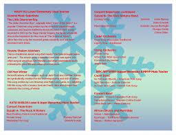 winter concert program u2013 dec 17th desert garden montessori