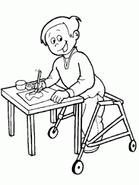 free coloring pages coloring book 91 disabilities 4