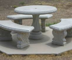 Concrete Patio Table Concrete Patio Furniture Mopeppers B72d3afb8dc4