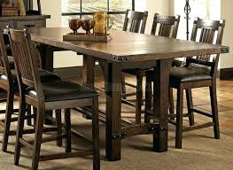 bar table with storage base kitchen table with storage base large size of table 9 piece counter