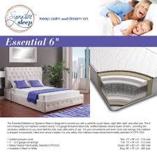 Sleep Train Bed Frame by Signature Sleep Essential 6