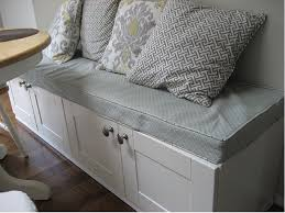 Kitchen Storage Bench Seat Plans by Wooden Idea