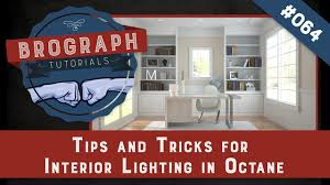Home Lighting Design Tutorial Brograph Tutorial 064 Interior Lighting With Octane In Cinema 4d