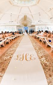 aisle runners ceremony decor custom aisle runners disney weddings