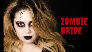 halloween zombie bride makeup wet n wild beauty fantasy makers zombie bride tutorial youtube
