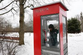 telephone booth the telephone booths of things to dot
