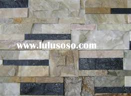 exterior design stone veneer panels culture slate wall cladding stack