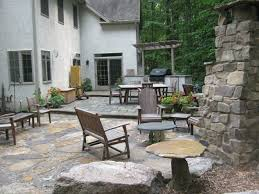 Patio Pavers Cost by Exterior Cozy Flagstone Pavers For Outdoor Flooring Design Ideas