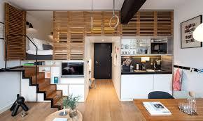 Modern Small Studio Apartment Design Bata Ringan Type Aac Modern - Apartment design concept