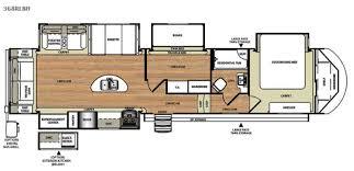 Rv 2 Bedroom Floor Plans New 2016 Forest River Rv Salem Hemisphere Lite 368rlbh Fifth Wheel
