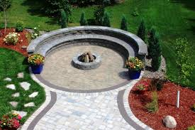outdoor patio paver fire pit area design ideas home fireplaces