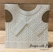 i the new cable sweater embossing folder stin with