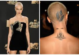 cara delevingne u0027s tattoos are pissing off movie producers u2014 but