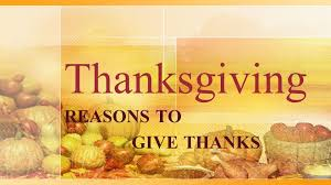 thanksgiving reasons to give thanks praise the lord o my soul