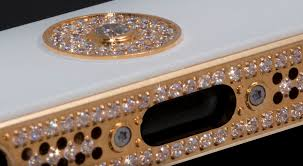 golden ferrari with diamonds million dollar iphone 5 appears diamond encrusted and in 24 carat