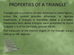 The Interior Angles Of A Triangle Always Add Up To Triangle Ppt