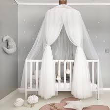 baldacchino lettino shop rosa grigio bianco neonate della principessa letto