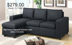 modern sectional sofas los angeles modern sectional small black fabric sectional sofa set