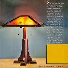 prairie table lamp plans u2022 woodarchivist