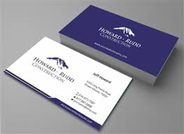 Budget Business Cards 82 Elegant Playful Construction Business Card Designs For A