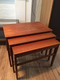 Teak Tables Vintage Retro Furniture Nest Of Teak Tables In Castlereagh