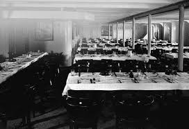 Titanic First Class Dining Room Second And Third Class Facilities On The Rms Titanic Wikipedia