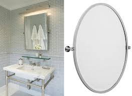 18 square pivot bathroom mirror rectangular pivot mirror home