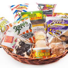 snack gift basket snacks galore cajun gift baskets new orleans gift baskets
