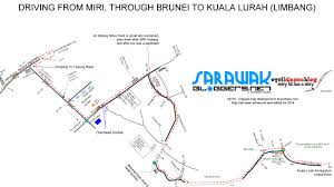 Brunei Map Borneobyroad14 Pt 1 Driving From Kuching To Kota Kinabalu